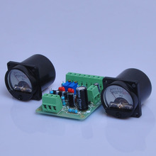 2pcs VU Panel Meter Warm Back Light With VU Driver PCB Board Stereo Audio Amp цена и фото