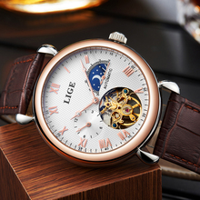 LIGE Watches Men Luxury 6815