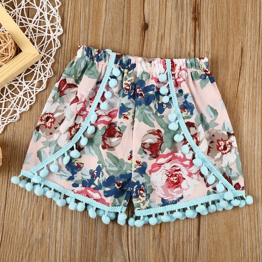 BABY BALL   Shorts   bloomers hot pants Toddler Girl   Shorts   Ruffle kids Bobo Choses 2017 Dave Bella summer Baby Girls   Shorts