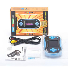 R s-16 Children Classic Handheld Video Game Player 2.5 Inch 8 Bit Console Built In 260 Games