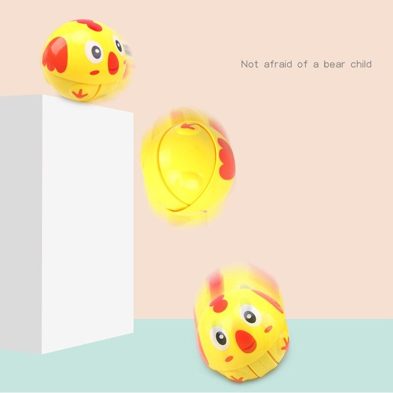 HUAILE Animal Roly Poly Tumbler Toy Inercia Climbing Toy Ring Ring - Խաղալիքներ նորածինների համար - Լուսանկար 3