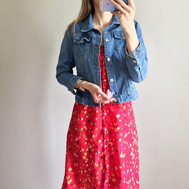 HTB1 0cluDXYBeNkHFrdq6AiuVXaY Spring Autumn Women Clothing Cowboy Coat Loose Long Sleeve Short Female Denim Jacket White Black Blue Pink Bomber Jacket Coats
