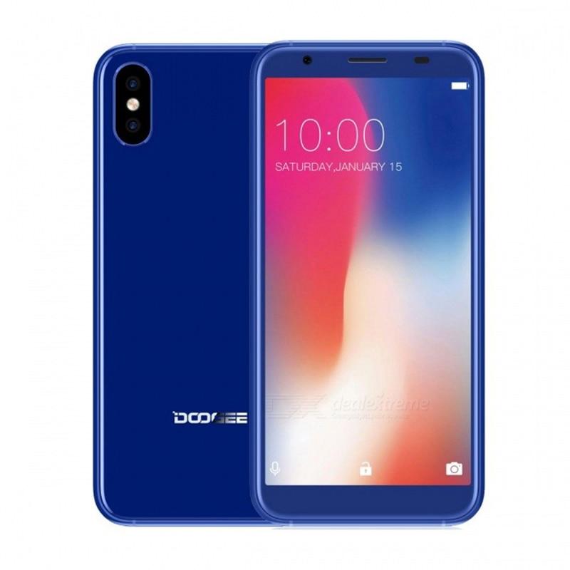 DOOGEE X55 Smartphone 1.3 GHz 1 GB 16 GB Android 7.1 16 GB 3G téléphone w RAM 2800 mAh HD MTKDual caméras côté téléphone portable empreinte digitale