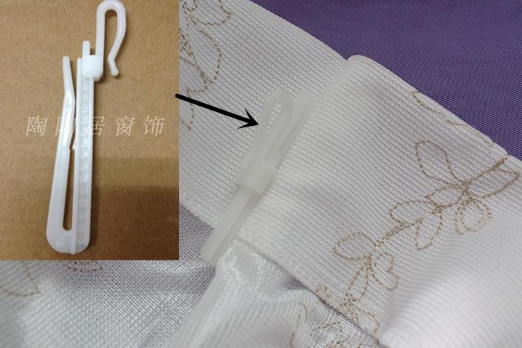 Adjustable Height ABS Plastic Curtain Hook Japanese Style Korean ...