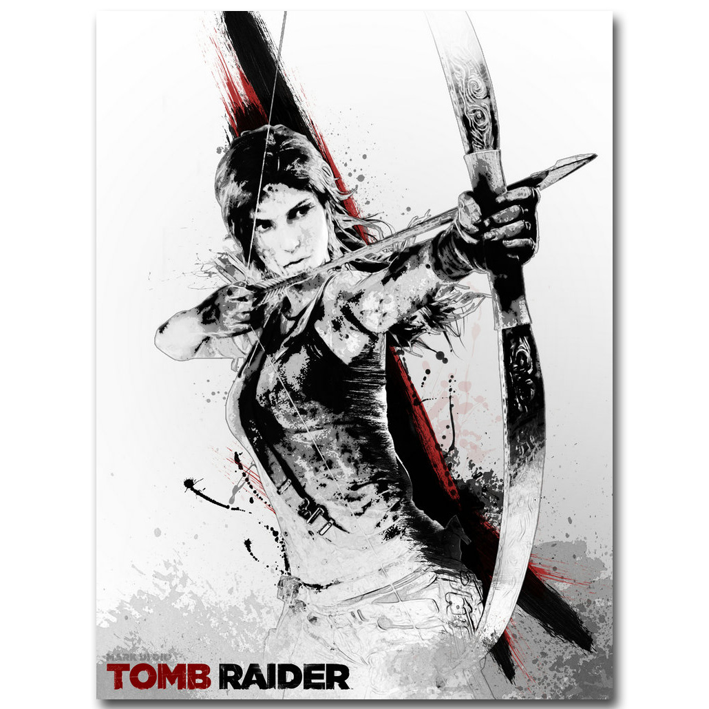 """Archer poster wall art home decoration photo print 24x24/"""" inches"""