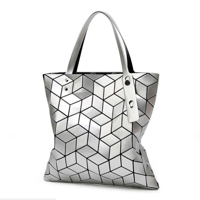 2018 Fashion Tote Laser Bag Women Hand Bags Summer Geometric bao Handbag Ladies Famous Brands Shoulder Bag