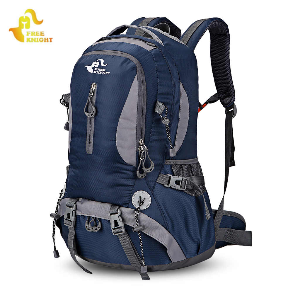FREE KNIGHT 0398 30L Lightweight Water Resistant Backpacks Climbing Camping  Hiking Backpack Outdoor Sport Bag Backpacks