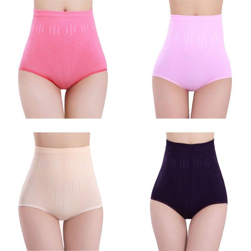 Seamless Women Shapers High Waist Slimming Tummy Control Knickers Pants   Pantie   Briefs Magic Body Shapewear lady Underwear