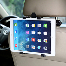 купить Car Back Seat Headrest Mount Holder For Apple iPad iphone Samsung Huawei XiaoMi OPPO 7-11 inch Tablet PC phone Stands Bracket по цене 656.66 рублей