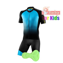 Kids boy Pro Cycling Clothing Cycling Set MTB Bicycle Clothes Maillot Ropa Ciclista Bike Sportswear Cycling Jerseys Set Children