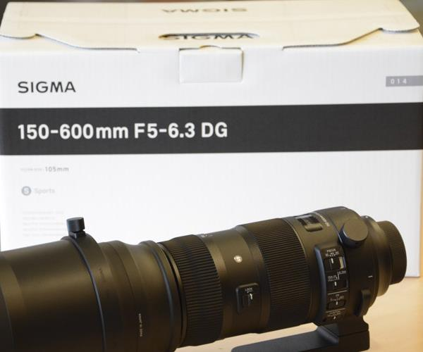 Sigma 150-600mm f/5-6.3 DG OS HSM Telephoto Sport Lens for Canon объектив sigma canon af 150 600 mm f 5 0 6 3 dg os hsm sports телеконвертер tc 1401