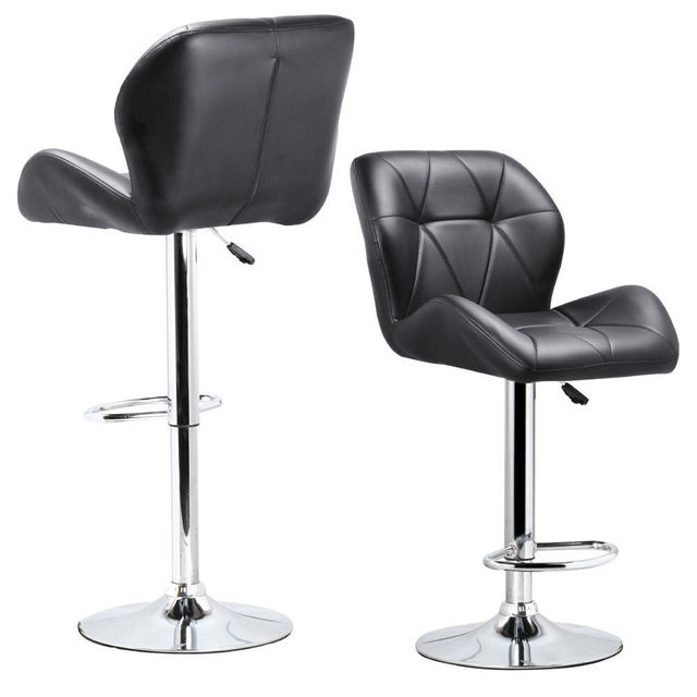 Swell Us 48 83 Hot Gczw Set Of 2 Adjustable Swivel Bar Stool Pu Leather Hydraulic Lift Dinning Chair In Bar Stools From Furniture On Aliexpress Com Camellatalisay Diy Chair Ideas Camellatalisaycom