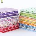 10*10 CM Random Color Thin Charm Packs Patchwork Cotton Fabric No Repeat Design Tissue Sewing Fabric 30 pcs/lot