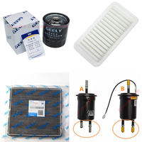 Geely Emgrand 7 EC7 EC715 EC718 Emgrand7 E7,Emgrand7-RV EC7-RV EC715-RV,GC7,Car air/conditioning/fuel/lubricating oil filter kit