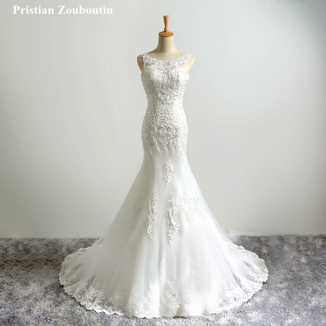 Nach maß Designer Brautkleid meerjungfrau Kleider Kleid robe de ...
