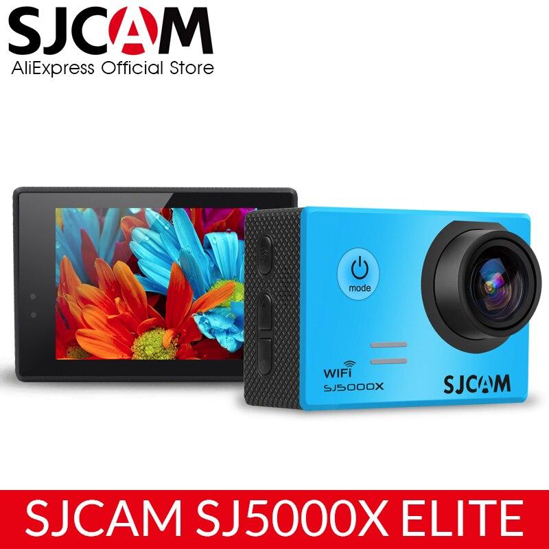 SJCAM SJ5000X Elite Action Камера Wi-Fi 4 К 24fps 2 К 30fps гироскопа Спорт DV 2.0 ЖК-дисплей ntk96660 Дайвинг 30 м Водонепроницаемый видеокамера