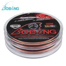 ФОТО bobing 3 plates/set 300m multicolor fishing lines strong pe 4 strands braided 8lb-80lb 327yds fishing wire