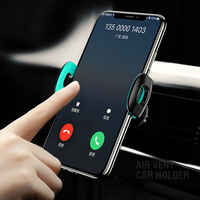 USAMS Car Phone Holder for iPhone 12 11 max Pro XS X 8 7 6 5 Huawei 360 Rotation Car Holder for Phone in car Air Vent Mount Holder for Samsung Xiaomi
