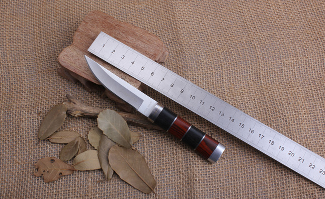 outdoor font b knife b font camping small fixed blade font b knife b font Stainless