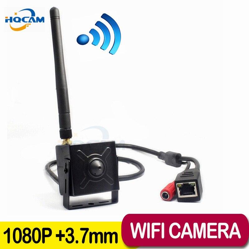 HQCAM 1080 P caméra réseau ip wifi 2.0 mégapixels mini caméra IP wifi H.264 Onvif sécurité wifi caméra CCTV caméra sans fil P2P