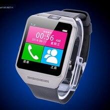 สวมใส่อุปกรณ์สุขภาพPedometer Mp3กันน้ำบลูทูธดูสมาร์ทกับซิมการ์ดมือถือระบบGSMหุ่นยนต์โทรศัพท์นาฬิกาสมาร์ท57f
