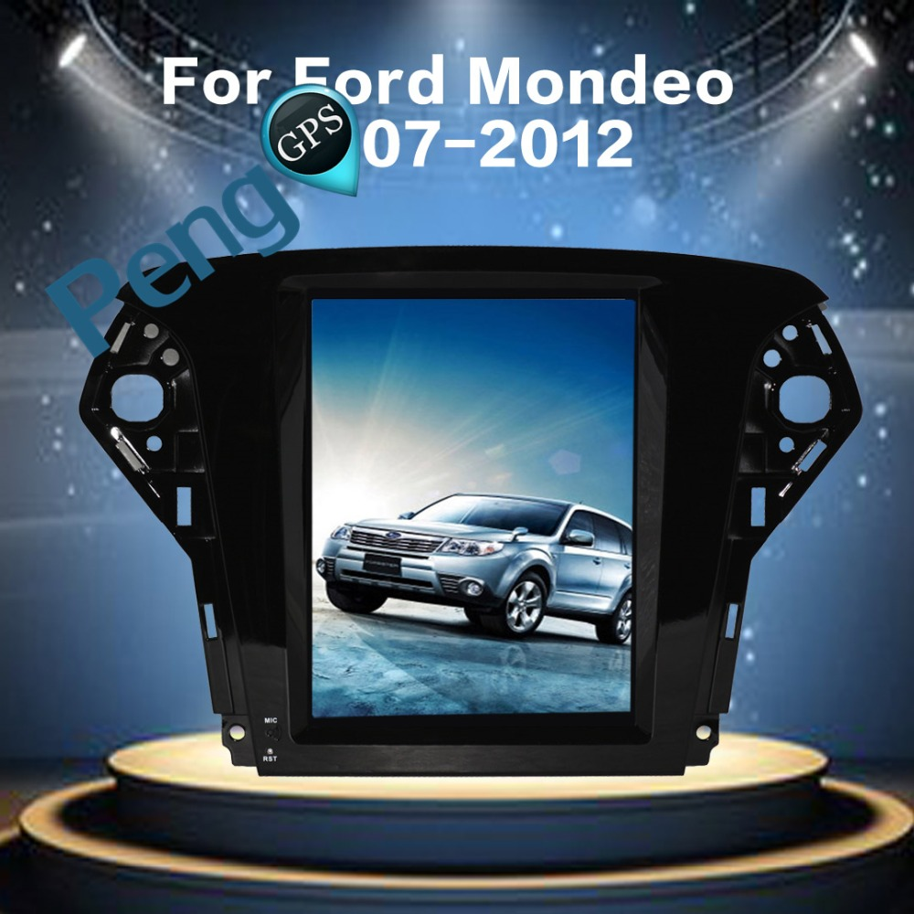 Big Screen Pure Android Tesla Style Car Dvd Player Gps Navigation 2007 Ford Fusion Radio Display 104 Inch 60 For Mondeo