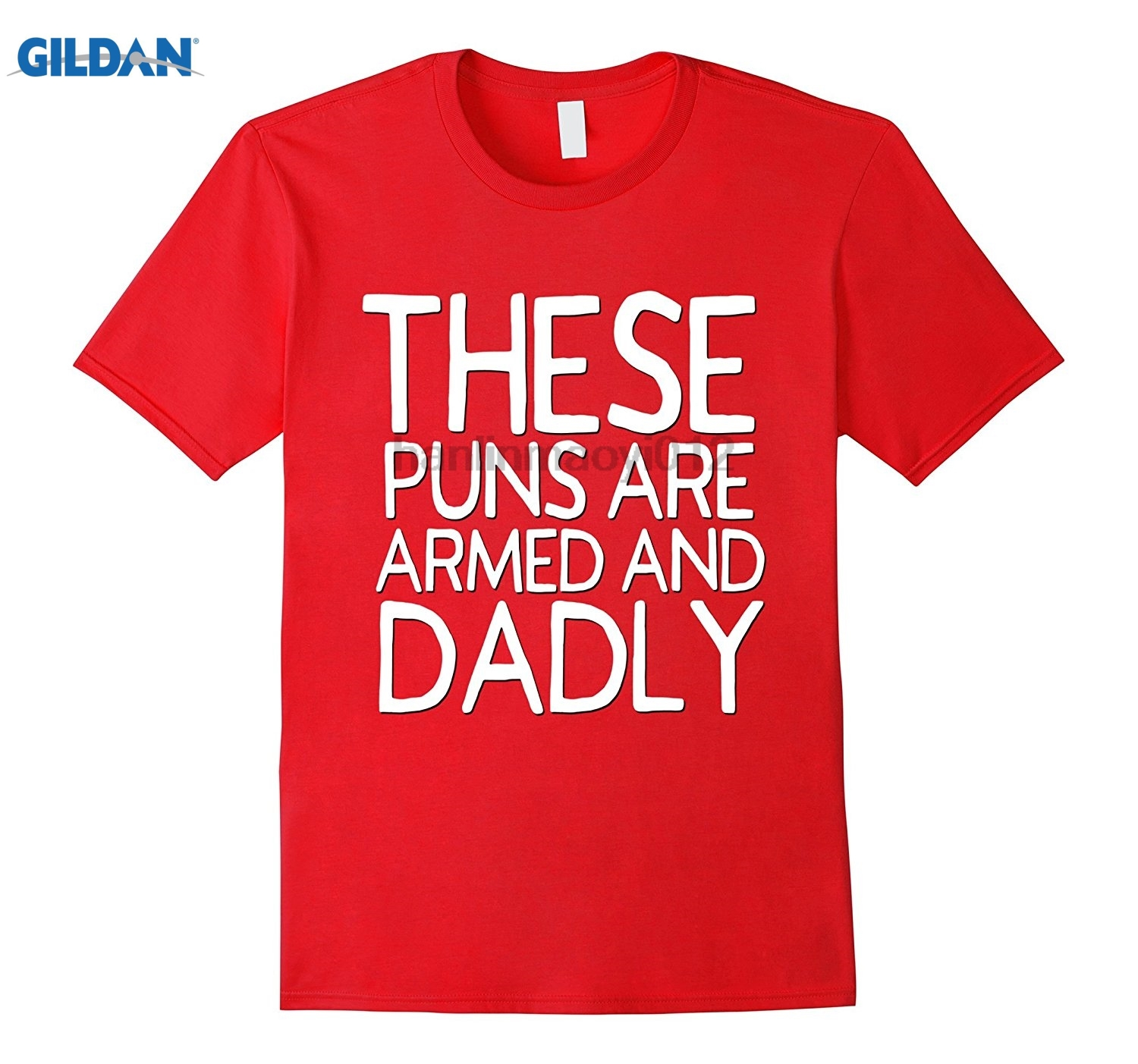 GILDAN Funny Dad Jokes Shirt These Puns Are Armed Dadly Fathers Day Trend new trend Mothers Day Ms. T-shirt