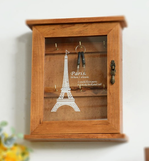 Wooden Wall Boxes : Popular decorative key box buy cheap