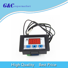 DC 12v Digital LED Temperature Controller 10A  Electronic Thermostat Control Switch +  Probe