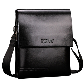 Leather Men Bag Casual Business genuine Leather Mens Messenger Bag Vintage Men's Crossbody Bag male 1