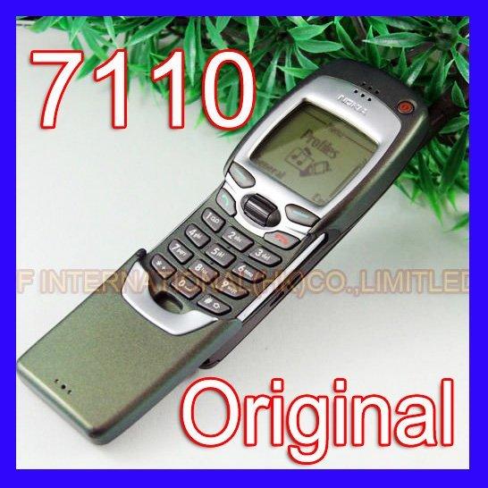 Refurbished 100% Original Nokia 7110 Mobile Cell Phone Classic 2G GSM 900/1800 Unlocked Silder Cellphone 7110