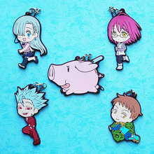 The Seven Deadly Sins  Rubber Keychain