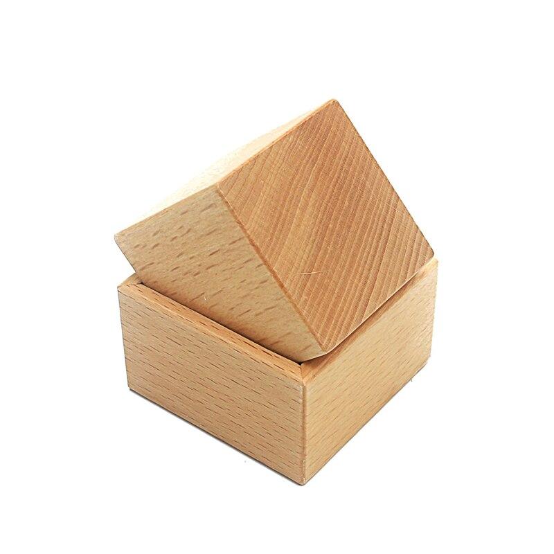 Juguete de bebé Montessori Material objeto montaje ejercicio cubo y caja Educación Temprana Preescolar juguete para niños pequeños Brinquedos Juguetes