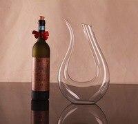1PC 1500ml Crystal Red Wine Pourer Glass Decanter Brandy Decant Set Jug Bar Champagne Water Bottle Drinking Glasses Gift JS 1102