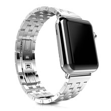 Hoco Watch Band Stainless Steel Watchband with Folding Clasp for Apple Watch 38mm