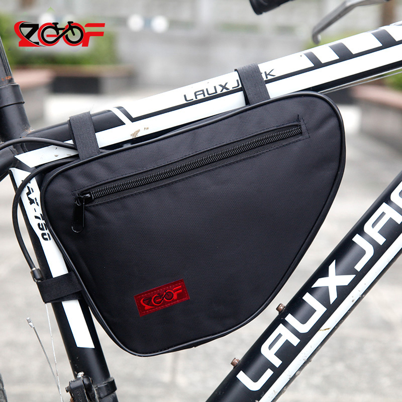 Zocoo New Waterproof Large Capacity Bicycle Bags Front Frame Head Triangle bags Mountain Bike Storage Pouch, Cycling Bag