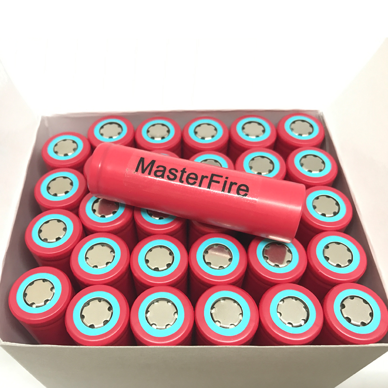 New MasterFire Wholesale 100% Original 18650 3.7V Li-ion Rechargeable Battery 2600mAh Cell Batteries For Sanyo цена