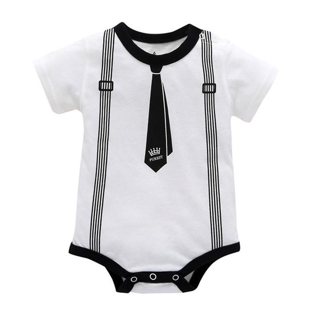Summer Baby's Short Sleeve Rompers