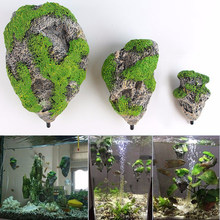 Floating Rock Suspended Artificial Stone Aquarium Decor Fish Tank Decoration Floating Pumice Flying Rock Ornament(China)