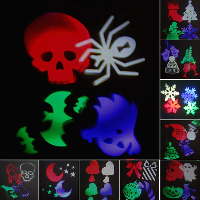 Waterproof Outdoor 10 Pattern Led Laser Landscape Lights Garden Projector Moving Pattern Stage Light For Christmas Holiday цена 2017