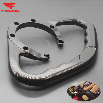 For Honda CBF1000 2000 - 2017 CNC Motorcycle Passenger Handgrips Hand Grip Tank Grab Bar Handle Armrest For CB1000R 2008 - 2017