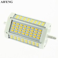 AIFENG R7s Led Light 30W 3000LM Aluminum Lamp SMD 5730 64Led 118mm J118 R7s Spotlight Replace