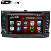SilverStrong Sportage Radio 2 din Car DVD For Kia Sportage 2007 2010 Car GPS Navigation Stereo Steering wheel