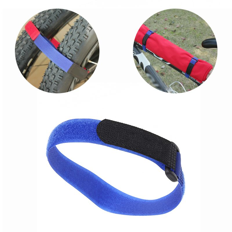 Bicycle Fixing Strap Multi Functional 35cm Fixed Belt Magic Sticker Cycling Infator Bottle Bandage MTB Bike Supplies Accessories