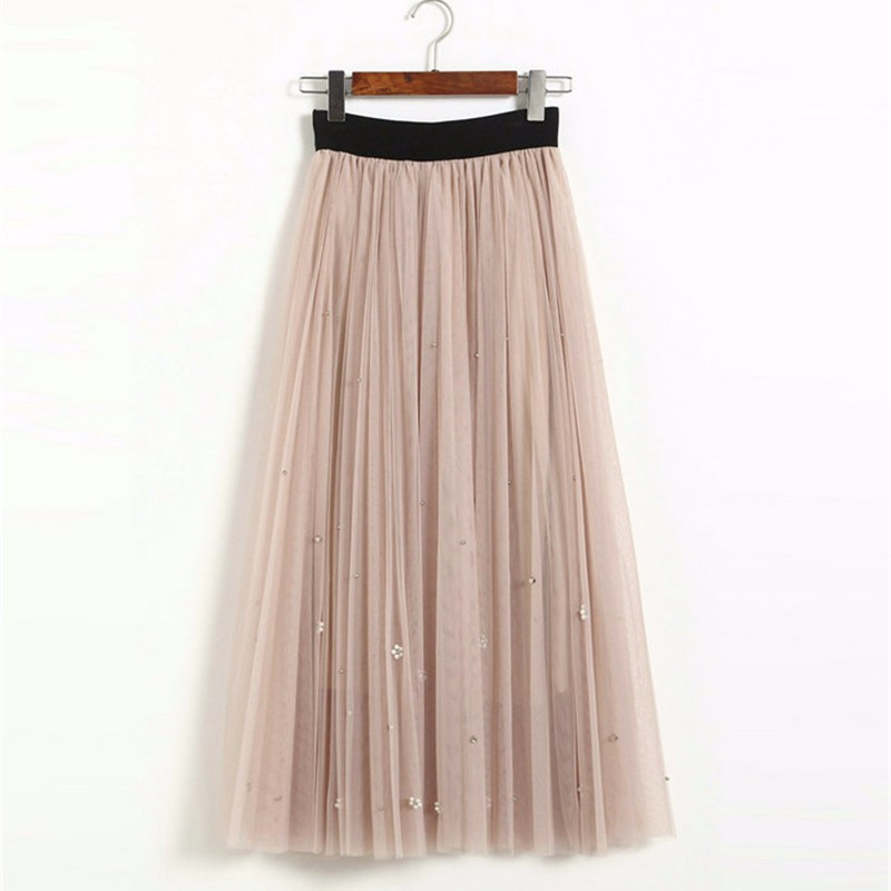 lace long skirt 09