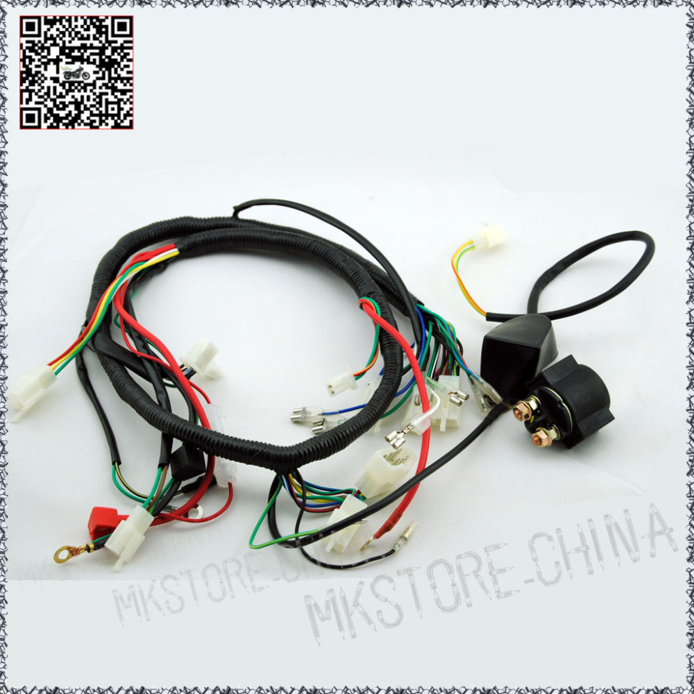 250cc Chinese Atv Wire Harness – Loncin 250cc Wiring Diagram 2008