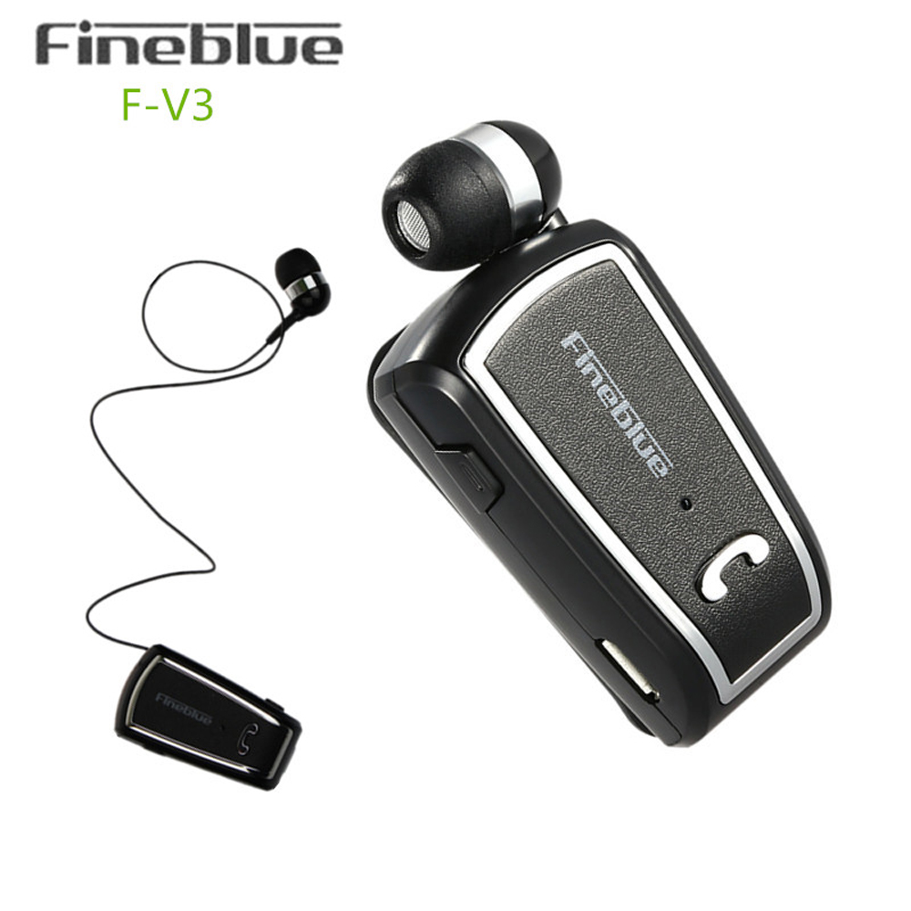 Fineblue Stereo Handfree Sports Earbuds Handsfree Bluetooth Headset In-ear Earphone Ear Phone Bud Cordless Wireless Headphones hoco brand carol series collar clip bluetooth 4 1 earphone sports headset for iphone universal earbuds in ear handsfree for car