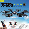 Envío gratis! negro MJX X600 2.4 G 6 Axis 3D rollo RC Quadcopter Drone Hexacopter Wifi C4005 Cam