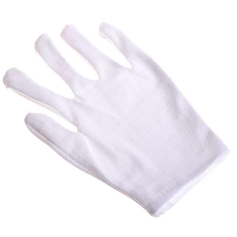 Дети Весело Экспресс-белый этикет полиэстер ребенок размер выступление перчатки в виде лап