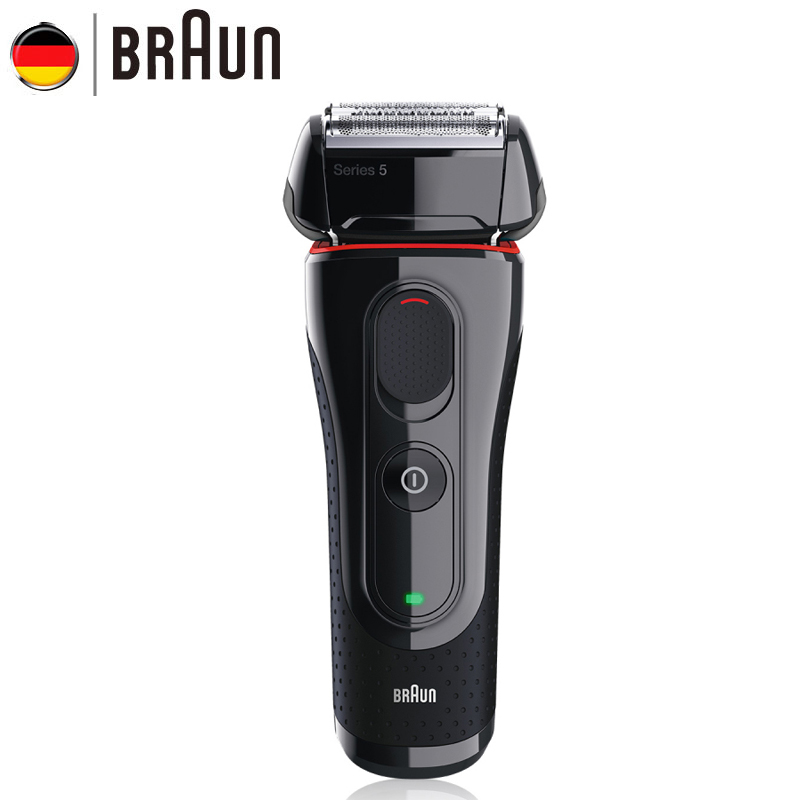 Braun Electric Razor 5030s Rechargeable Electric Shaver Razor Blades High Quality Shaving Safety Razors For Men braun series 3 electric shaver 3080s electric razor blades shaving machine rechargeable electric shaver for men washable